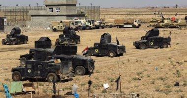 القوات العراقية تدمر عدد من الانفاق التابعة لداعش فى قصف جوى