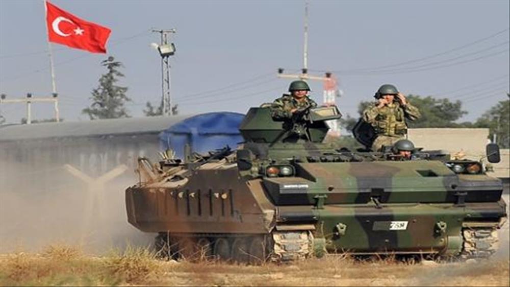 الجيش التركي يطوق عفرين بالكامل