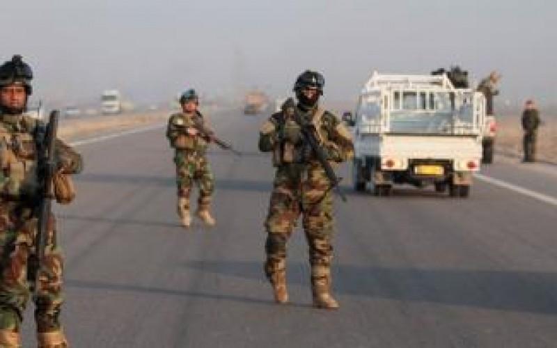 الحشد الشعبي ينشر سيطرات مرابطة وكاميرات حرارية لتأمين الطريق الرابط بين الطوز وبغداد