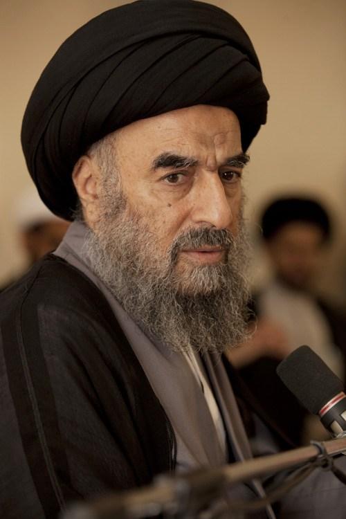 المرجع المدرسي يدعو بغداد واربيل الى مزيد من اللقاءات لحل المشاكل