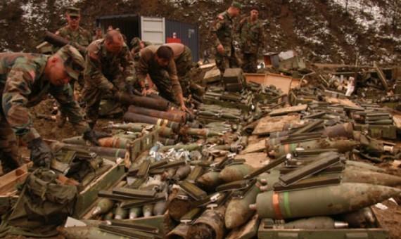 العثور على مضافات لداعش داخلها ملابس عسكرية وأواني طبخ