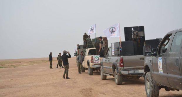 """حصيلة اليوم الاول لعملية الحشد الشعبي الامنية """"شمال شرق ناحية الرياض"""" في كركوك"""
