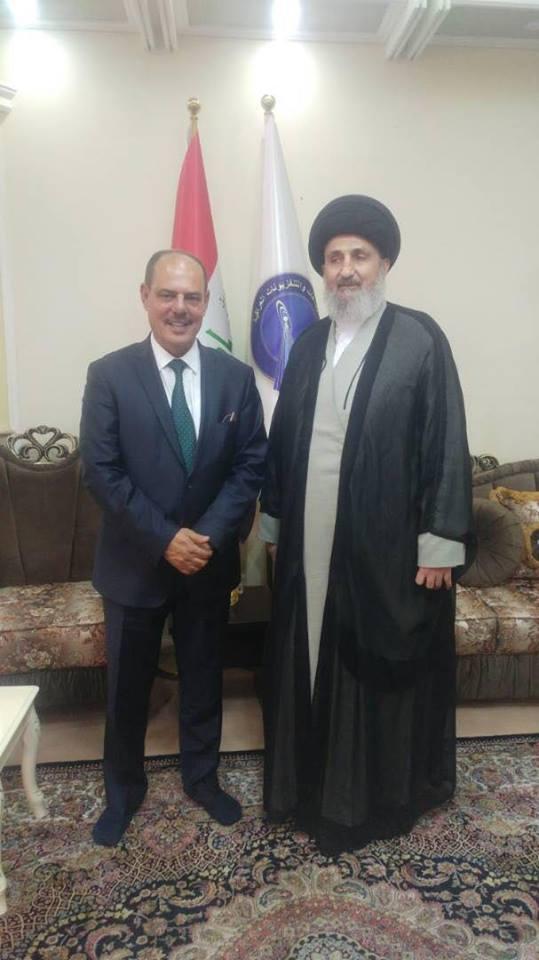 لقاء بين اتحاد الاذاعات والتلفزيونات العراقية ونقابة الصحفين العراقيين