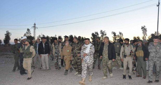 الحشد الشعبي يضبط معدات حربية شرق بعقوبة