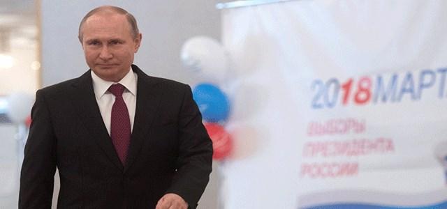 النتائج الاولية للانتخابات الروسية: بوتين يحصل على 73,9% من الأصوات