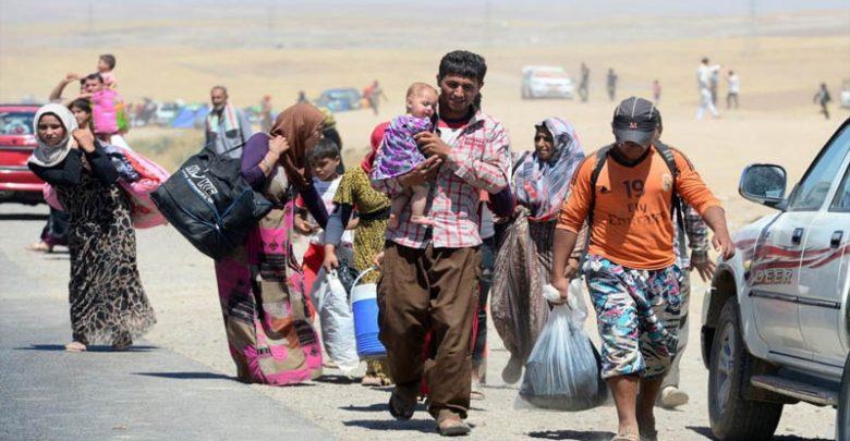عودة 262 عائلة نازحة الى منازلها في ناحية جلولاء