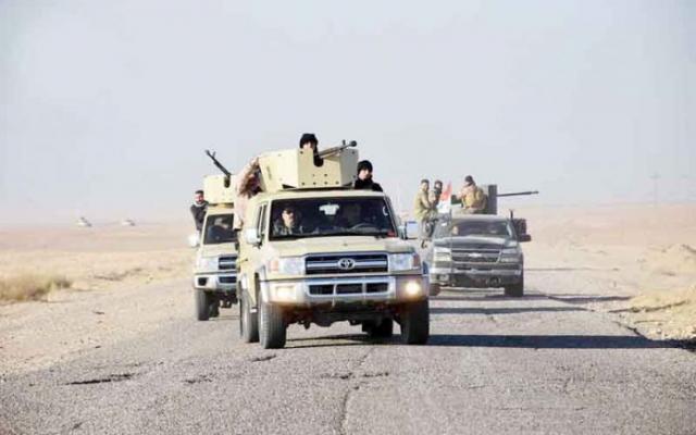 """الحشد الشعبي يدمر مضافة لـ""""داعش"""" في كركوك"""