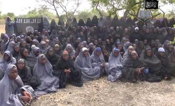 نيجيريا تعتزم التفاوض من اجل اطلاق سراح 110 فتيات مخطوفات