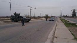 إجراءات أمنية مشددة للحشد في بيجي لمنع تسلل عناصر داعش وسلامة عودة النازحين