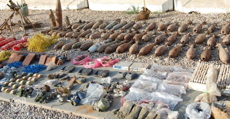 العثور على 47 عبوة ناسفة وأربعة صواريخ كاتيوشا في بغداد