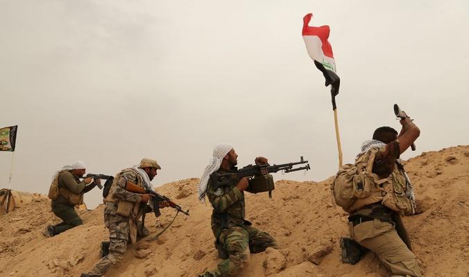 """انجاز نوعي للحشد الشعبي يقطع شرايين """"داعش"""" في ديالى"""