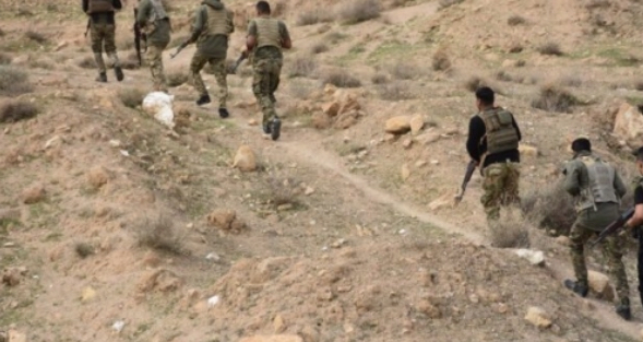 العثور على نفق لداعش قرب سلسلة جبال بتيرا