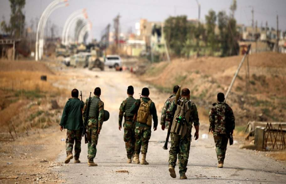 الحشد الشعبي ينفذ عمليات تفتيش في جبال حمرين بحثا عن فلول داعش