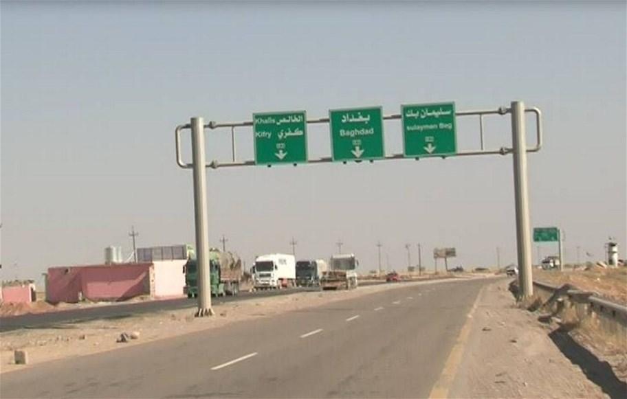 أنباء عن إختطاف عجلتين بسيطرة وهمية على طريق بغداد -كركوك