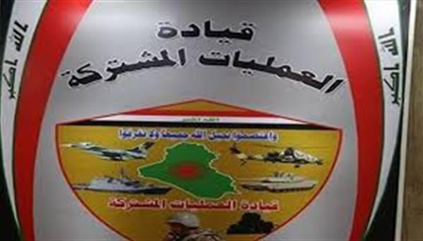 العمليات المشتركة تنفي وجود تحركات لقوات اجنبية عبر الحدود العراقية