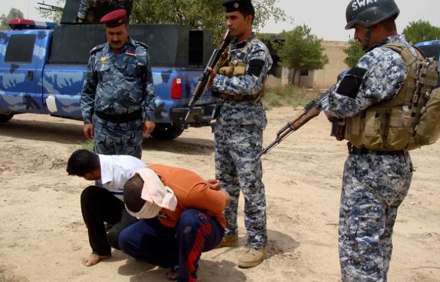 شرطة النجف تعلن اعتقال 8 متهمين بمواد قانونية مختلفة