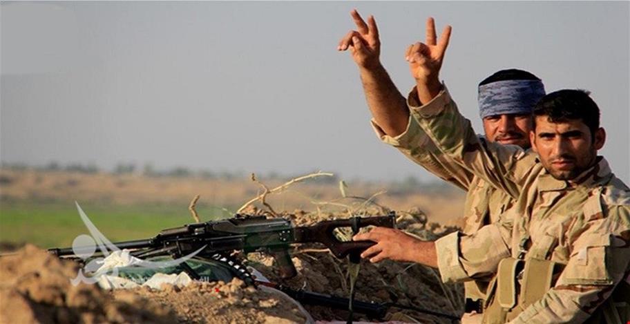 """الحشد يدمر """"عبارة"""" تابعة لداعش في صلاح الدين"""
