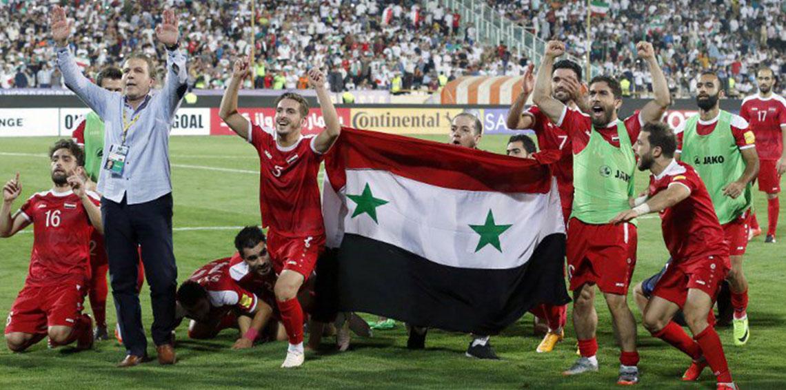 المنتخب السوري يكشف سبب إختيار العراق أرضاً له