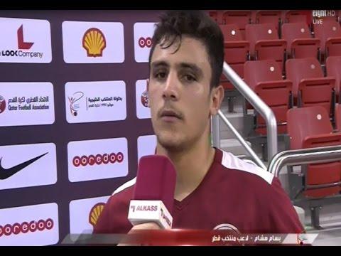 لاعب قطري أصله عراقي يفوز كأفضل لاعب ببطولة الصداقة
