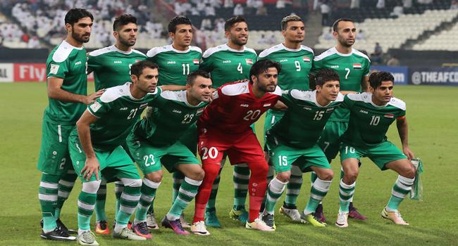 العراق يتراجع ثلاثة مراكز بتصنيف منتخبات العالم