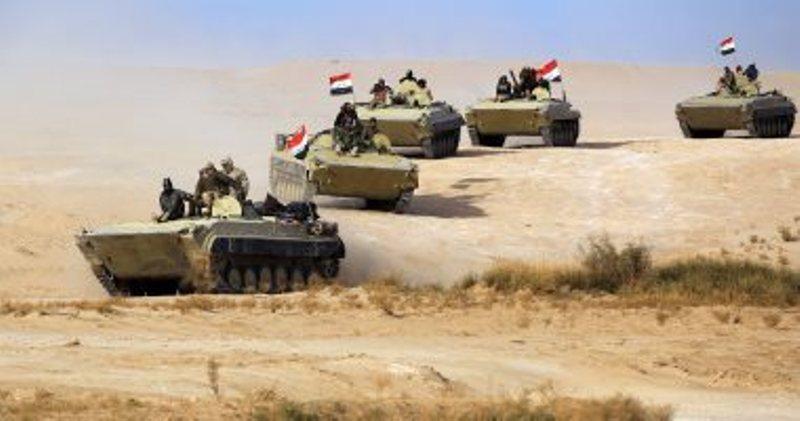 عمليات عسكرية للقضاء علي بقايا داعش في صحراء الانبار وبادية النجف