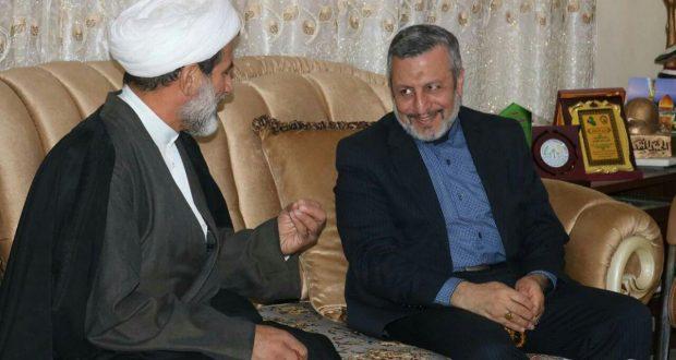 القنصل الايراني يبحث مع مكتب الحشد في الديوانية تسهيل عملية سفر جرحى الحشد لمعالجتهم في ايران