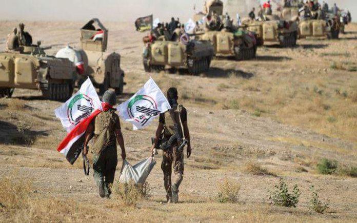 الحشد الشعبي ينقذ عائلة من الاعدام على يد داعش في الحويجة