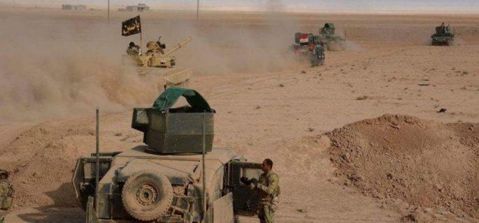 الحشد الشعبي والجيش ينفذان عملية أمنية لمناطق شرق الانبار وصولا إلى حزام بغداد