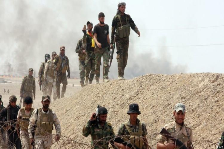 الحشد الشعبي يلاحق خلايا داعش في نواحي الحويجة