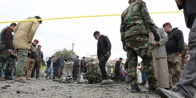 قتل ثلاثة انتحاريين قرب بحيرة الثرثار