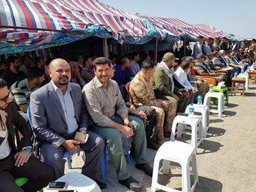 بالصور.. الحشد الشعبي يرعى عودة مئات العوائل النازحة إلى السعدية شمال شرقي بعقوبة
