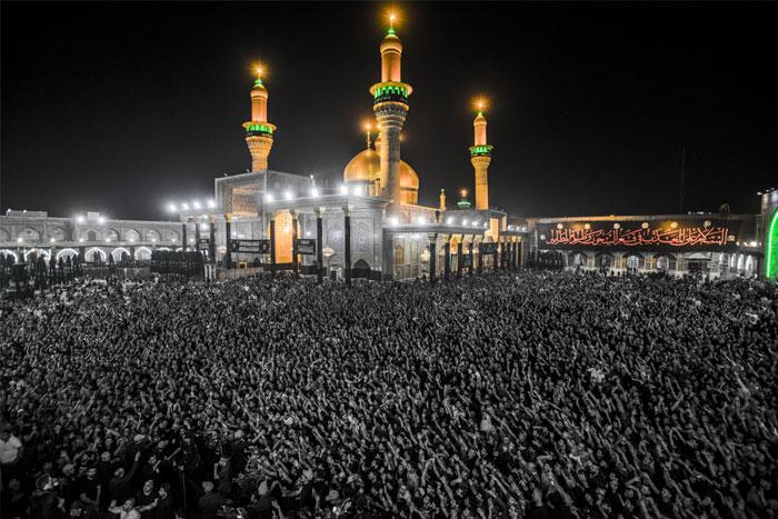 العتبة الكاظمية المقدسة تشيد بجهود هيئة الحشد الشعبي لانجاح زيارة الامام الكاظم (ع)