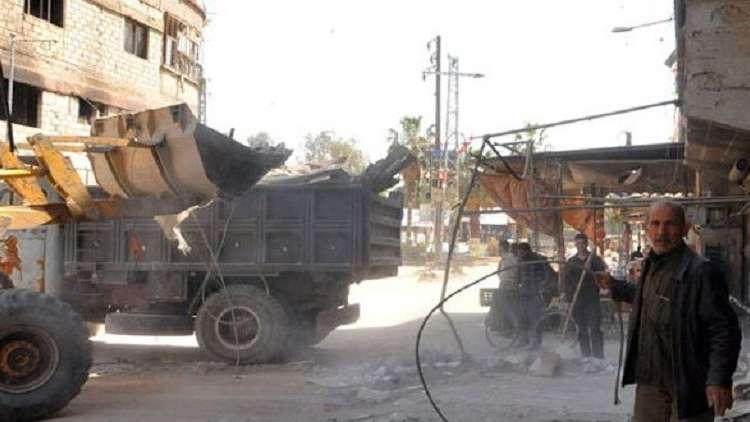 """الحكومة السورية تقر """"خطة تنمية شاملة لمناطق محررة من الإرهاب"""""""