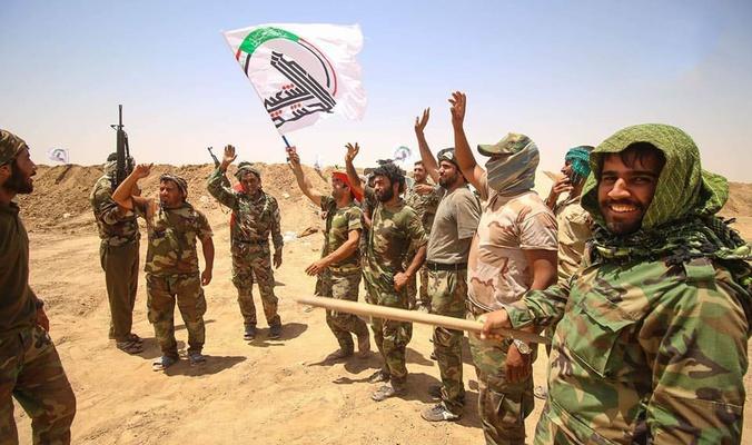 الحشد الشعبي يحبط عملية استهداف خط انابيب النفط شمال شرقي صلاح الدين