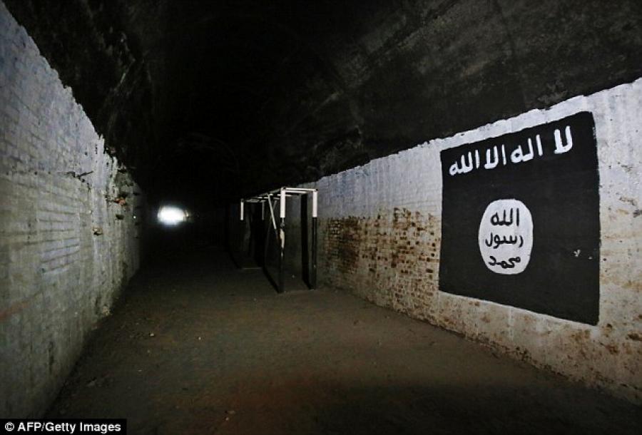 جنايات نينوى: السجن 15 سنة لإرهابي حفر أنفاقاً لداعش