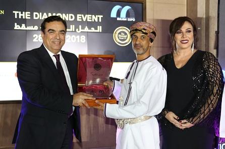 خلال مهرجان الماسي..   مؤسسة السوسن العالمية تكرّم جورج قرداحي في سلطنة عمان