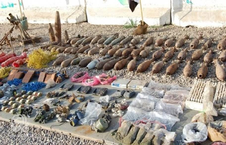 العثور على 45 عبوة ناسفة في احدى قرى نينوى