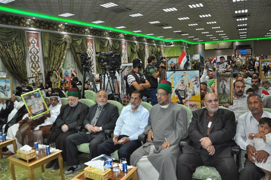 مكتب الحشد في واسط يناقش مع الشهداء والمضحين البرامج المخصصة لذوي شهداء المحافظة