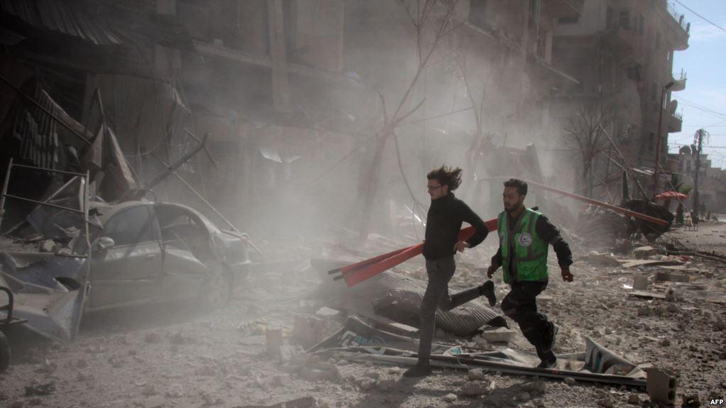 دمشق تنفي وقوع هجوم كيميائي في دوما بالغوطة الشرقية
