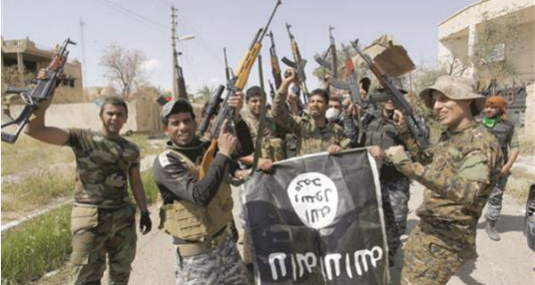 اللواء 16 بالحشد يقتل خمسة دواعش بينهم قياديان بكمين في الرشاد بالحويجة