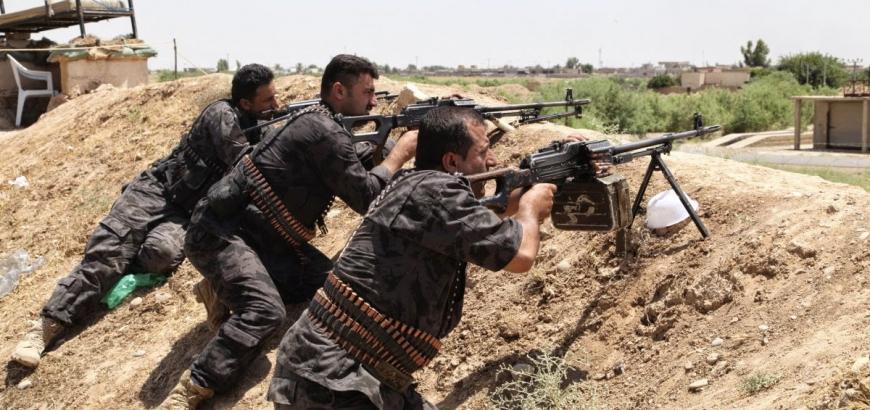 """الحشد الشعبي يشرع بعملية لـ""""تقطيع"""" سبل تجمع فلول """"داعش"""" في شرق الأنبار"""