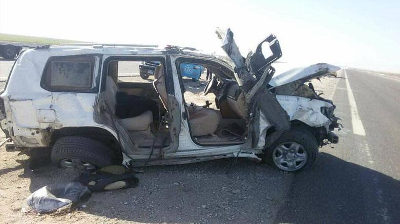 اصابة سبعة اشخاص بتصادم على طريق الرابط بين الناصرية و بصرة