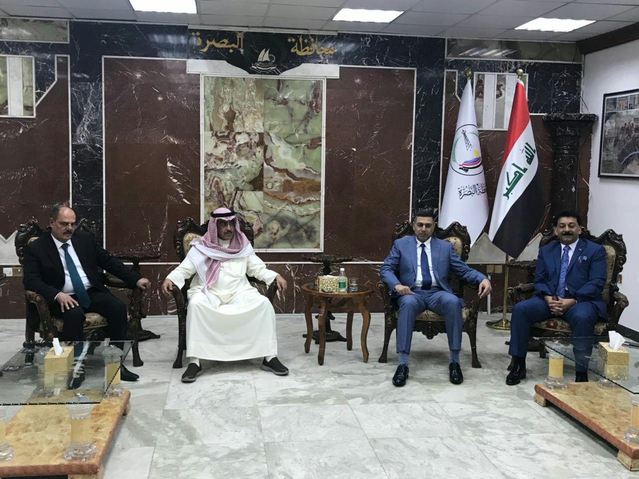 وفد كويتي يصل البصرة لتعزيز العلاقات بين البلدين