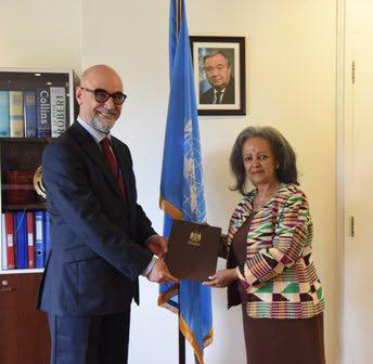 سفير عراقي لمسؤولة أممية: هناك دمار كبير في البنى التحتية