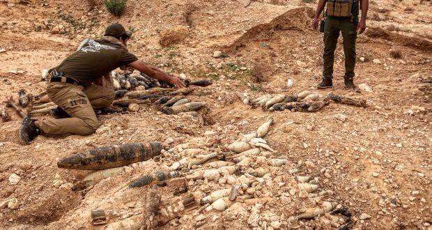 هندسة الميدان في الحشد تفكك 5000 عبوة ولغم ومقذوف حربي خلال 30 يوما في بيجي