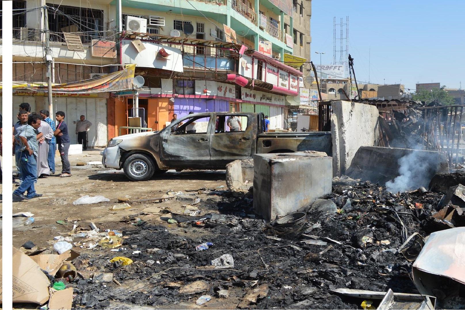 مقتل مدني وإصابة آخر بانفجار جنوب بغداد