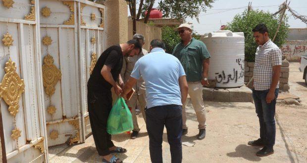 حفظ الامانة.. سَّلات غدائية تصل بيوت الشهداء في ميسان بمناسبة رمضان