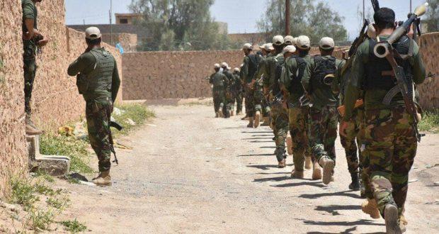 """الحشد الشعبي يفسد على """"الدواعش"""" تواريهم عن الانظار بين الموصل وبيجي"""