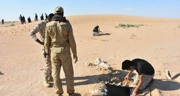"""تدمير مضافتين وستة انفاق لـ""""داعش"""" في صلاح الدين"""