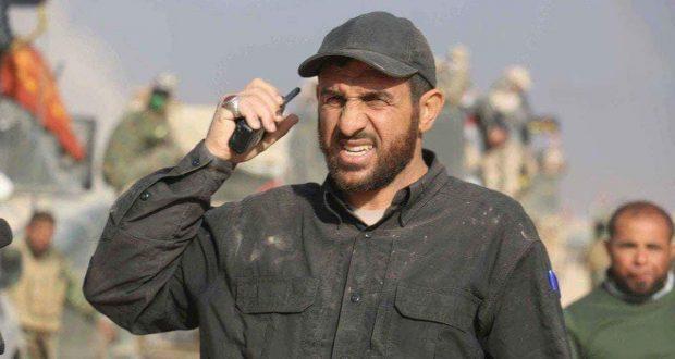 هيئة الحشد الشعبي تعلن وفاة قائد فرقة الامام علي القتالية الشيخ كريم الخاقاني